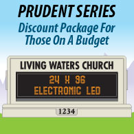 Econo-Line Church Monument Package