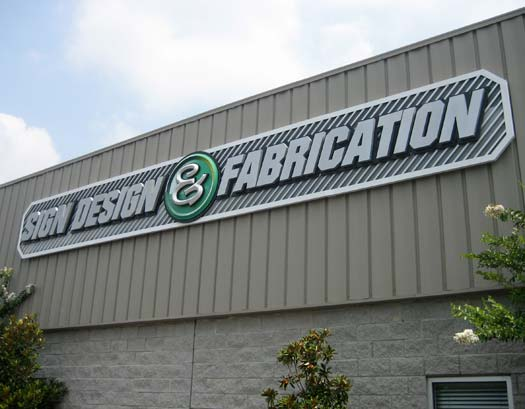 Sign Design and Fabrication Inc Facility Sign